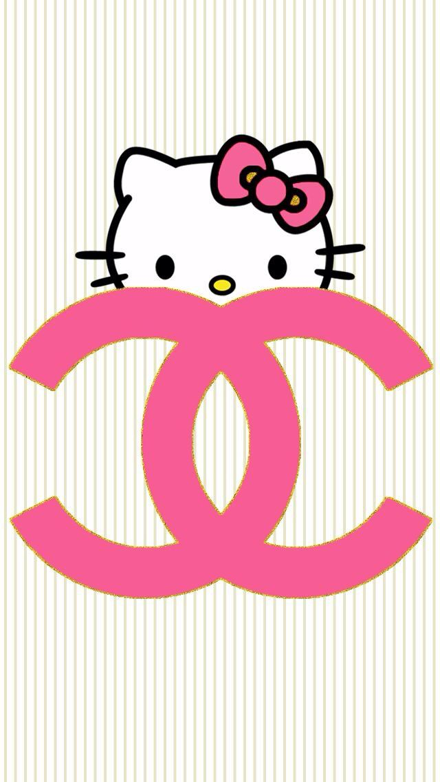 add a caption on We Heart It  Hello kitty backgrounds, Hello
