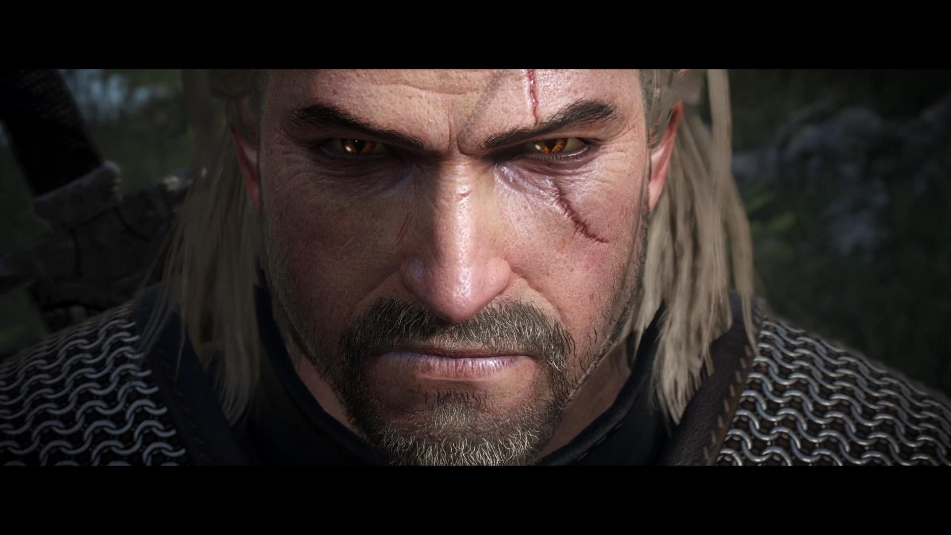Geralt Of Rivia Witcher 3 Face Gerlat Of Rivia The Witcher 3
