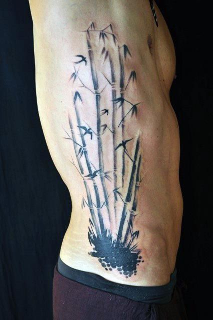 50 bamboo tattoo designs for men lush greenery ink ideas bamboo rh pinterest com japanese bamboo tattoo designs bamboo tattoo designs thailand