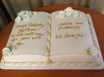 Pastor Appreciation Cake Ideas Google Search Book Cakes Bible