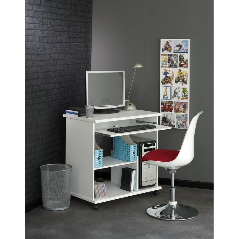 Compact Computer Desk In 2020 With Images Compact