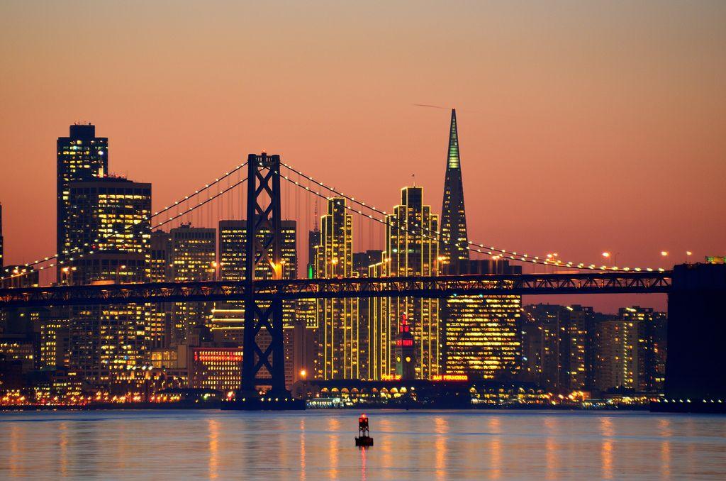 San Francisco Skyline San Francisco At Night San Francisco Photography San Francisco Skyline