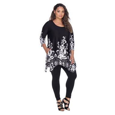 e4718ee387 Buy White Mark Yanette Tunic Top Plus at JCPenney.com today and enjoy great  savings. Available Online Only!