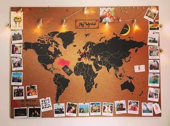 carte du monde à épingler Épinglé par Hélène Lucas sur Tableau de Constance | Carte du monde