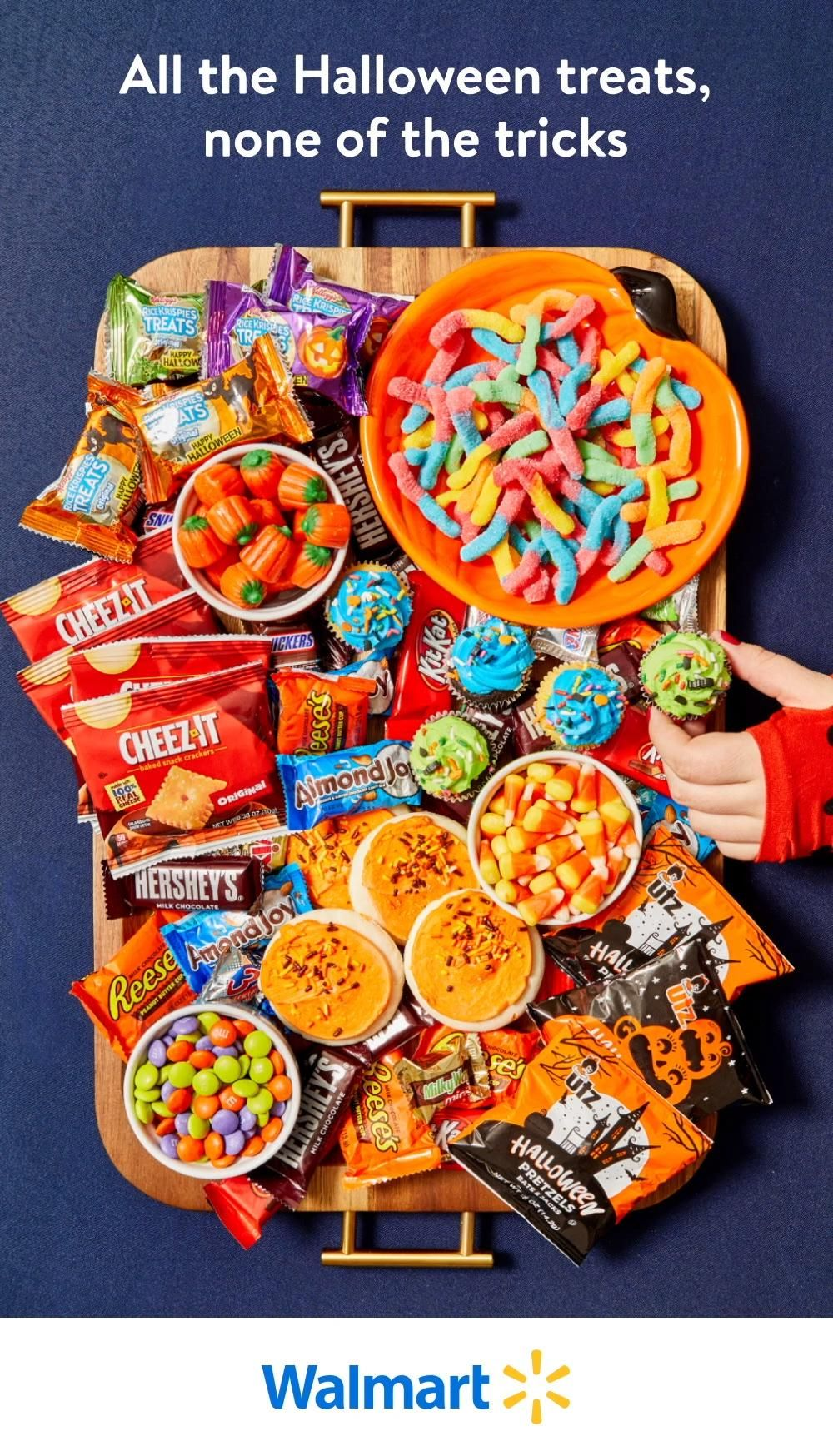 Whether you're stocking up for a celebration, or you just want to get in the spirit and spoil everyone in the house, Walmart has all the candy and treats you need at everyday low prices you'll love.