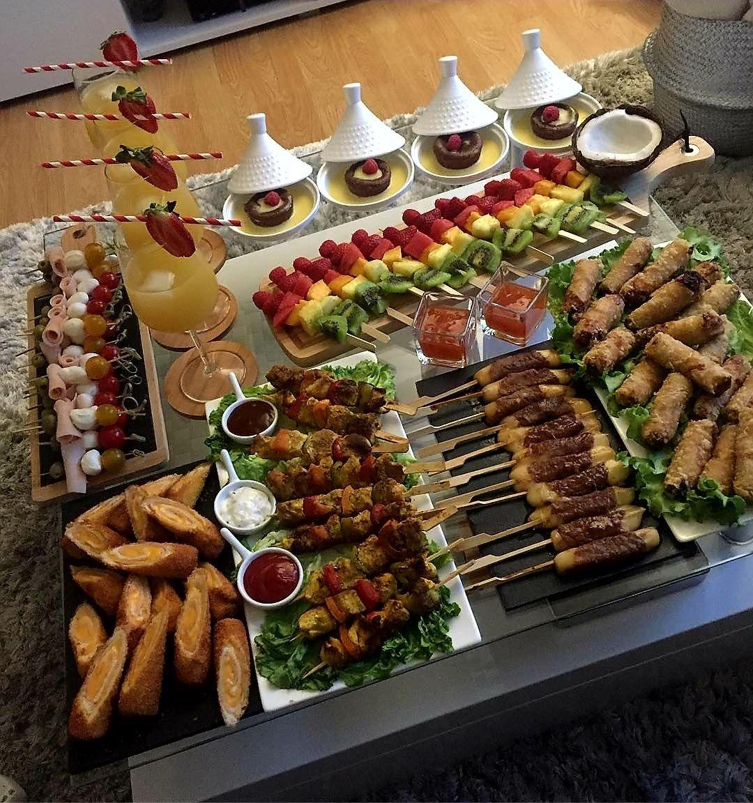 Idée Repas Marocain Kebab et salées | Recettes de cuisine, Cuisine marocaine, Repas