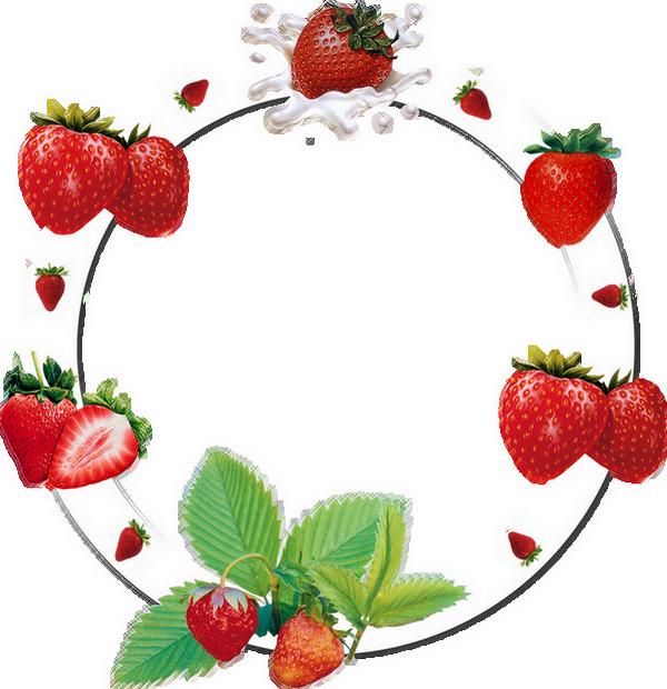 Cadre png : fraises - Strawberries : frame png - Fresas ...