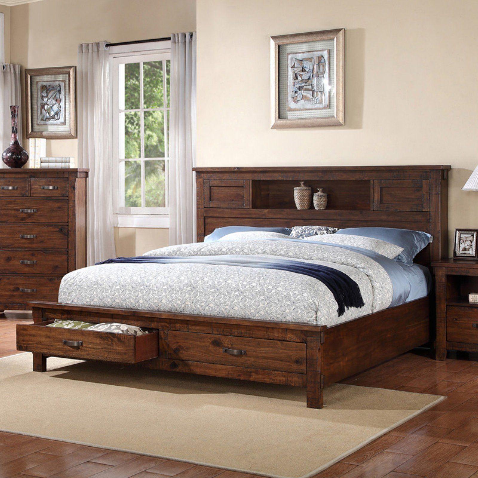 Legends Furniture Restoration Storage Low Profile Bed, Size ...