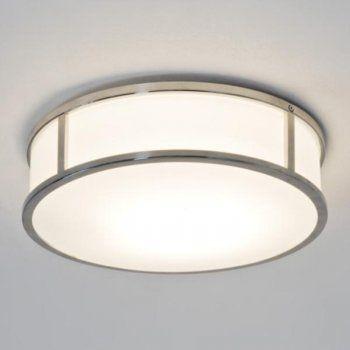 Ceiling · astro 7077 mashiko round 300 1 light ceiling light ip44 polished chrome