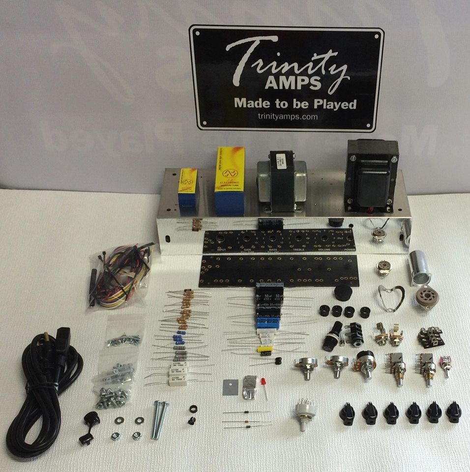 Hand built point to point vacuum tube guitar amplifiers diy trinity amps offers players an economical do it yourself way to build you own trinity amp solutioingenieria Image collections