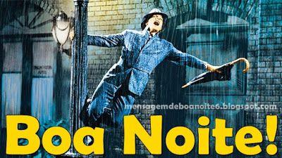 Boa Noite Dancando Na Chuva Cantando Na Chuva Filmes Cinema