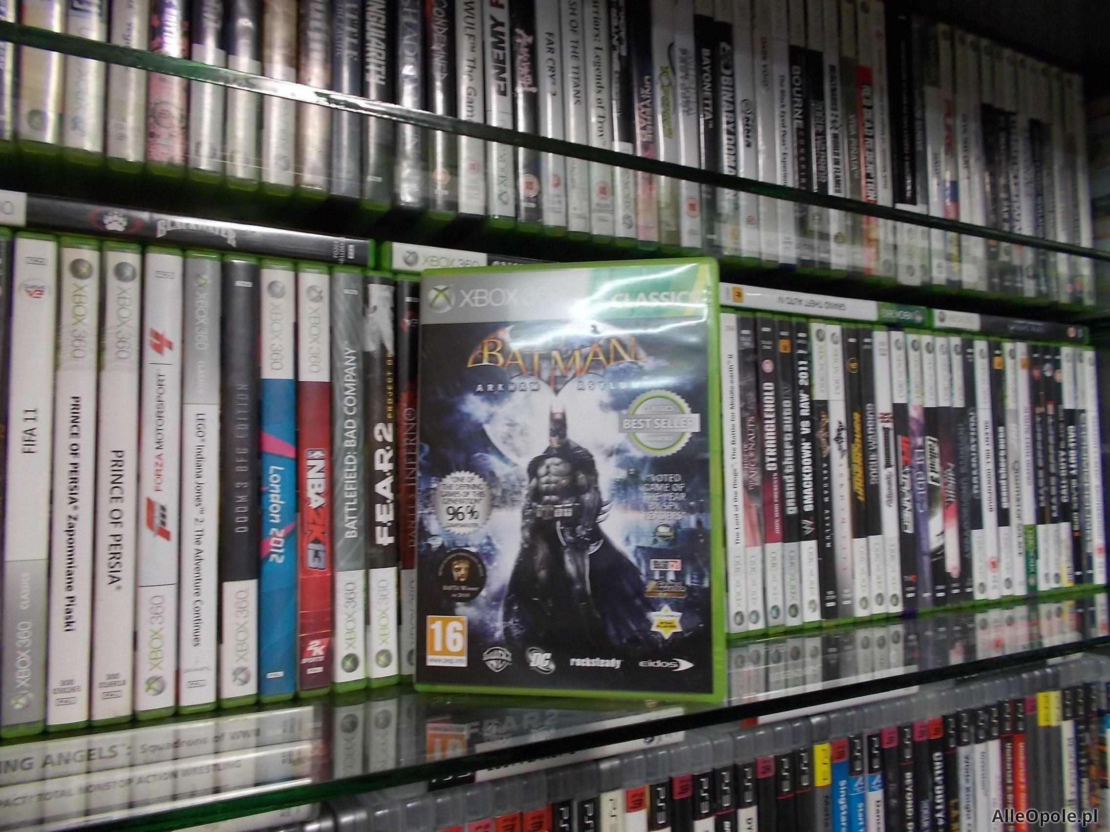 "Batman Arkham Asylum - GRA XBOX 360 Sklep ""ALFA"" Opole 0183 - AlleOpole.pl (Opole)"