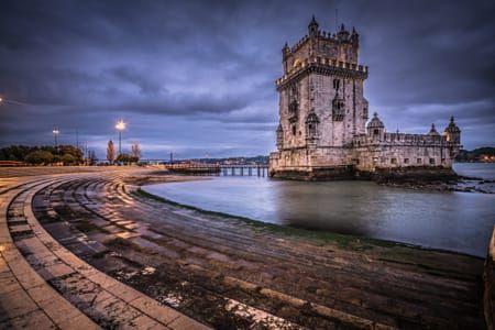 Torre belem night