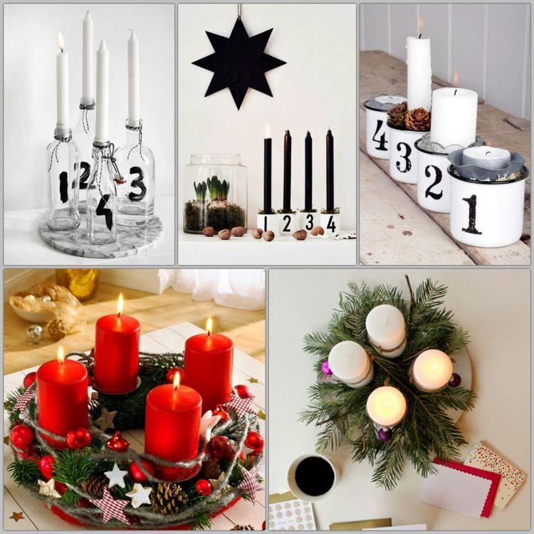 Wie können Sie schöne Weihnachtsdeko Ideen selber basteln ...