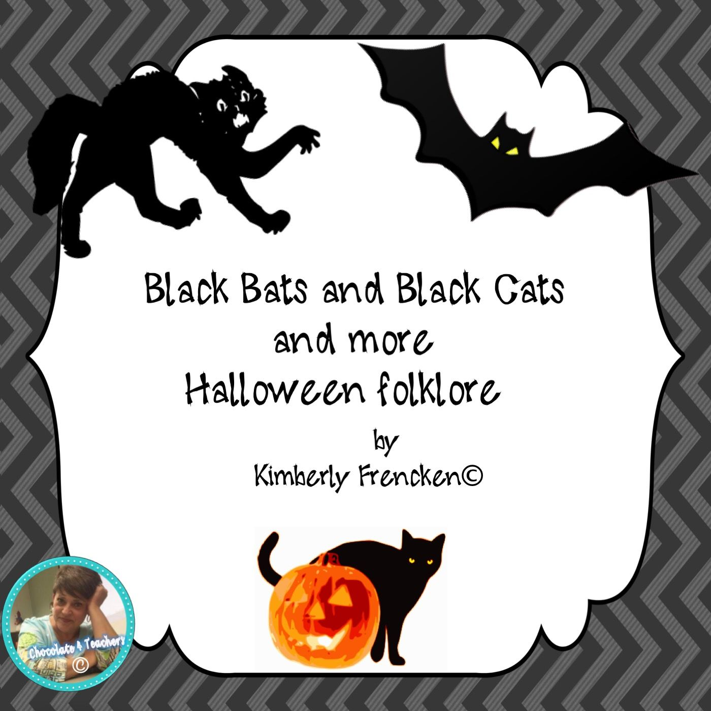 Black Bats And Black Cats From Chocolate 4 Teachers