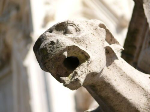 Gargoyles are a remarkably colorful quirk of architecture...