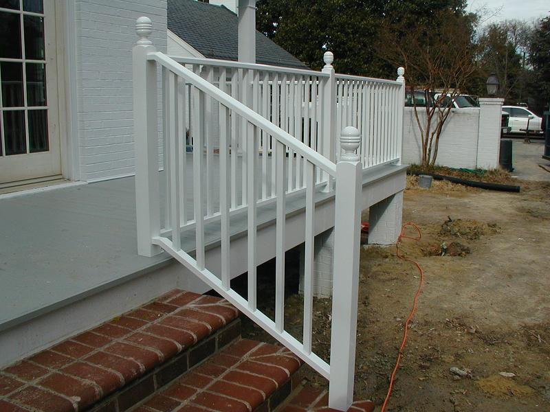 cheap 5 step rail step rails for cement steps yahoo answers home exterior handrail. Black Bedroom Furniture Sets. Home Design Ideas