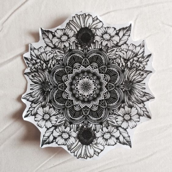 17 Mandala Tattoos That Bring Out Your Inner Warrior Goddess