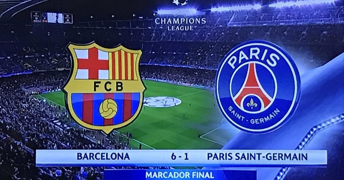 Sobras Las Palabras Cuando Habla El Futbol Hoy Los Que Amamos Al Futbol Nos Acabamos De Encontrar Frente A Un Partido De Paris Saint Germain Barcelona Gol De