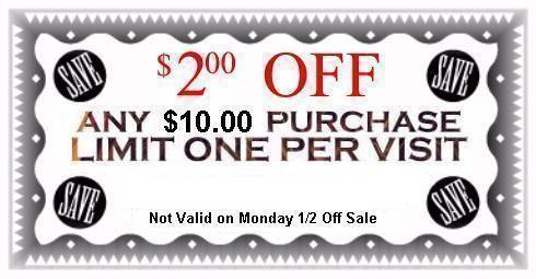 Thrifting Atlanta Last Chance Thrift Store 2 Off Coupon Coupons Thrifting Last Chance