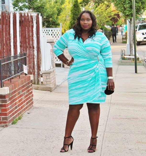 8993415bc08 STYLE JOURNEY  THE CLASSIC WRAP DRESS. Curvy Women StyleCurvy Girl ...