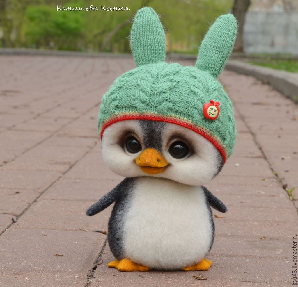 Пингвин Митя – заказать на Ярмарке Мастеров – 65HD