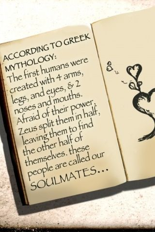 Greek Myths I Like This Story Of The Concept Of A Soulmate Greek Mythology Mythology Soulmate Signs