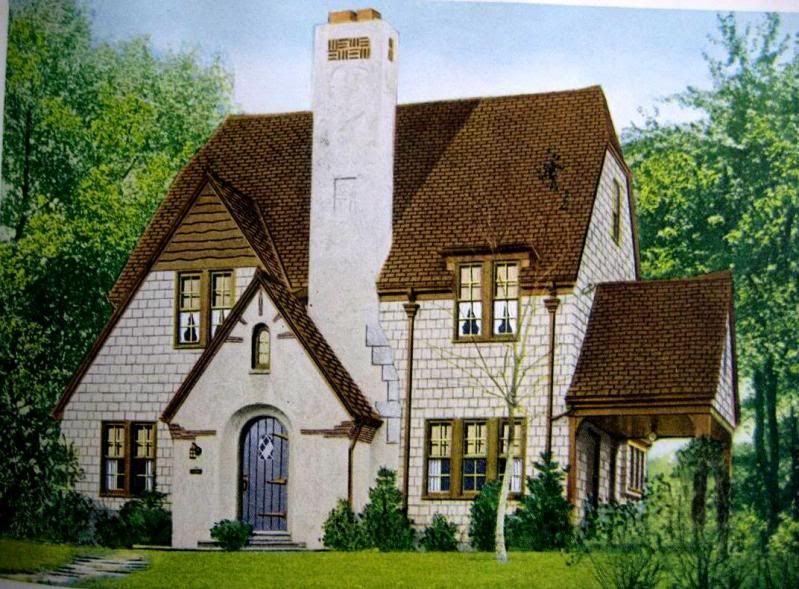 Beautiful little tudor revival from the late 1920s for Tudor revival house plans