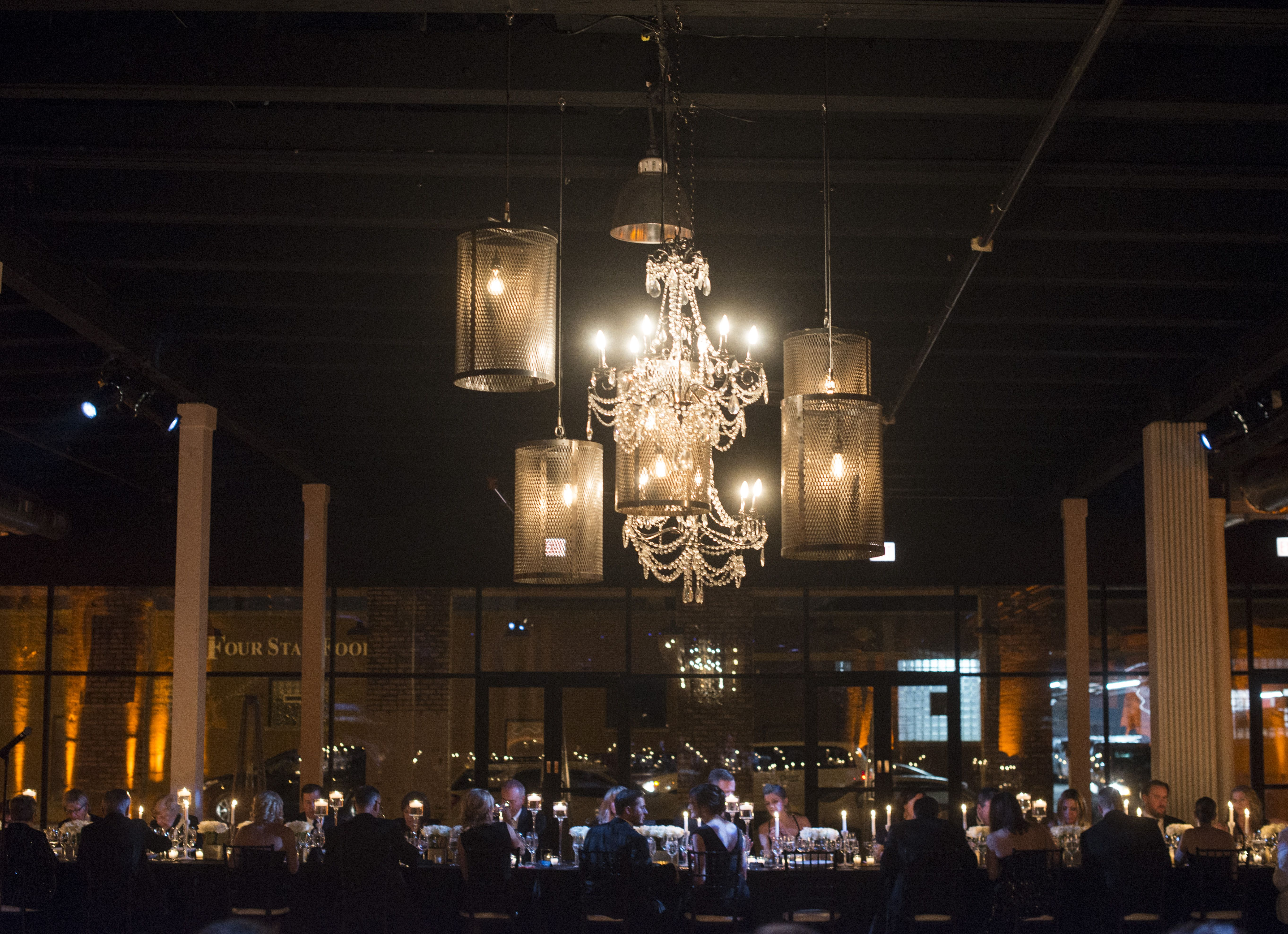 These chandeliers are amazing! Photo by Erika Dufour.