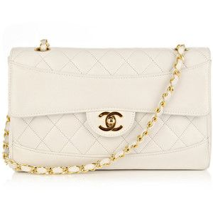 Chanel vintage bags WHITE | purse crazy | Pinterest | Purse, Bag ... : chanel bag white quilted - Adamdwight.com