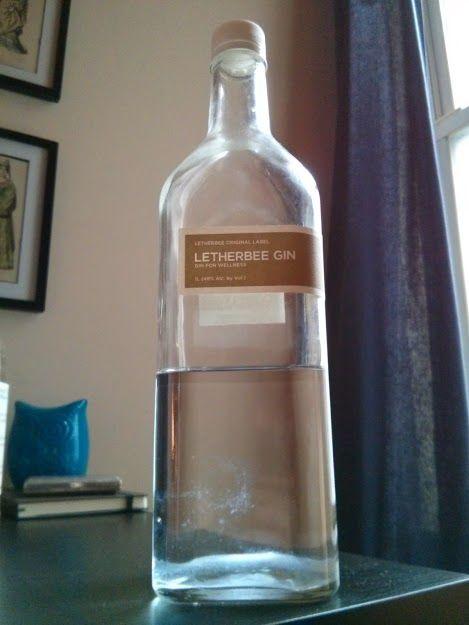 Letherbee Gin Bottle Gin Bottles Gin Gin Brands