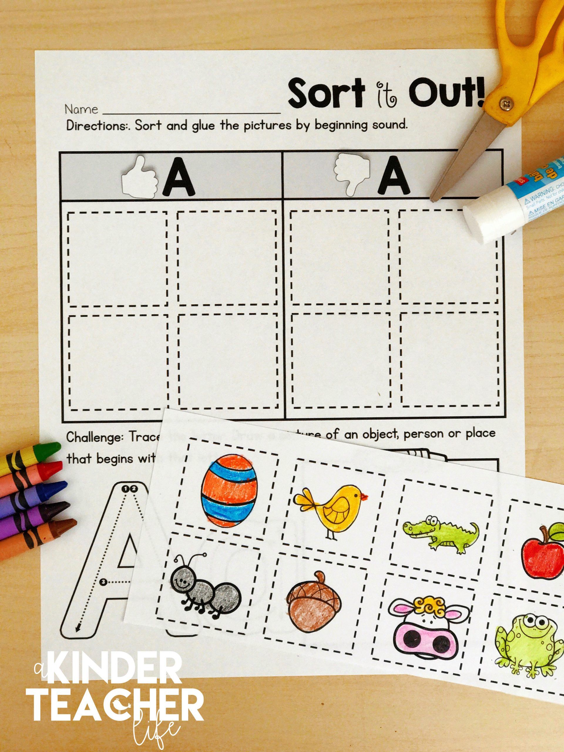 medium resolution of Phonics Awareness Worksheets   Printable Worksheets and Activities for  Teachers