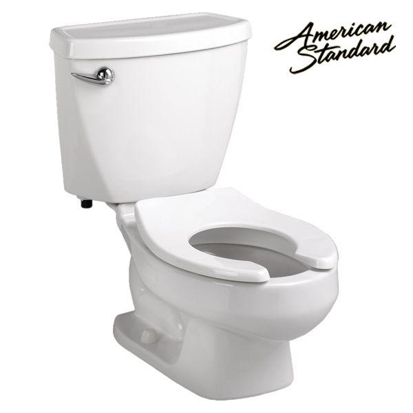 Juvenile Toilet W Tank Floor Mt Round Front American Standard Toilet Toilet Tank
