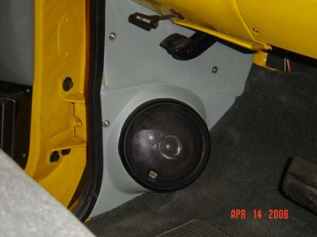 Speaker Kick Panel Pods In The Catalog Crew Cab