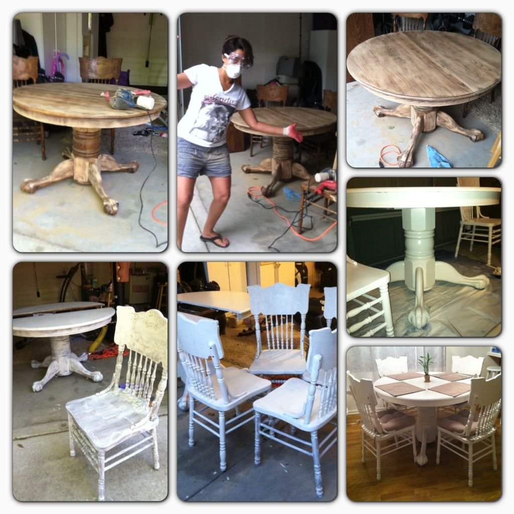 craigslist dining room chairs. Dining Table Redo. Purchase On Craigslist, Sand, Prime, Paint \u0026 Seal. Craigslist Room Chairs E