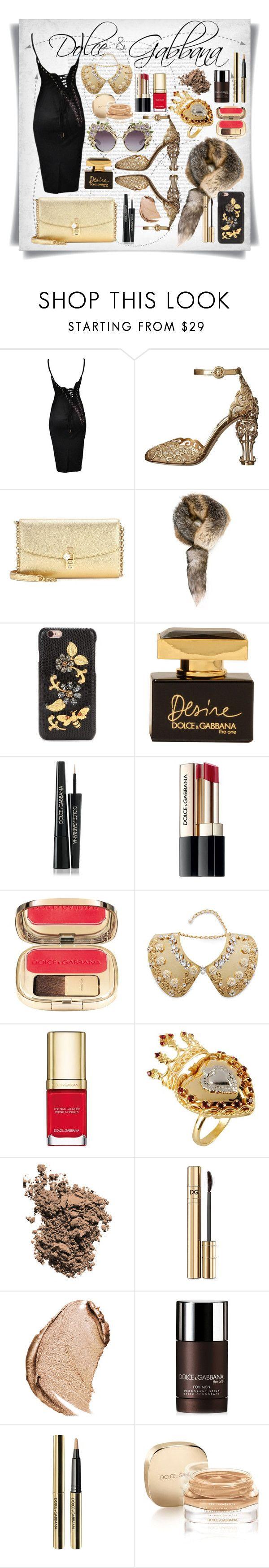"""Dolce&Gabbana Corset Black Dress"" by imbeauty ❤ liked on Polyvore featuring Oris, Dolce&Gabbana and dolcegabbana"