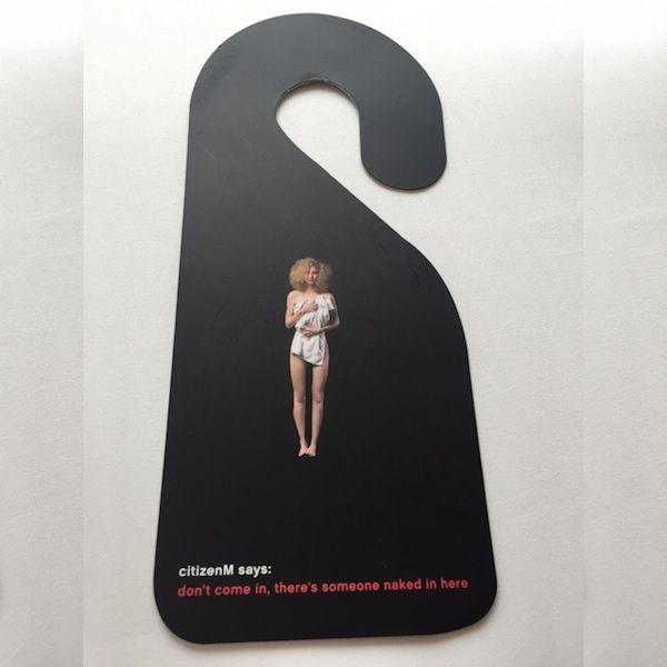 Door Hanger Graphic Design do not disturb: 15 more creative hotel door hangers