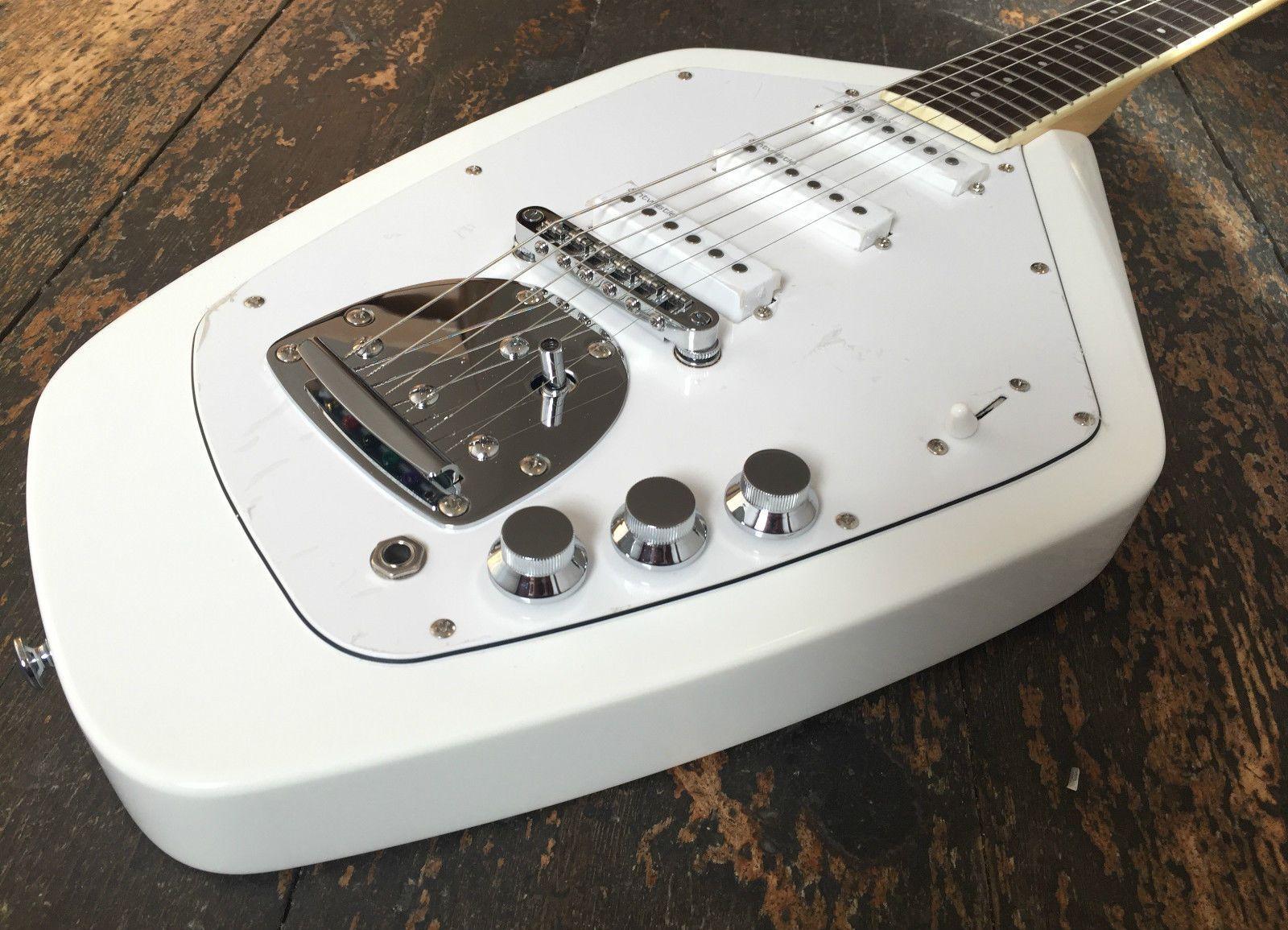 Revelation Vox Vtx 63 V Vintage White Electric Guitar Electric Guitar Guitar White Vintage