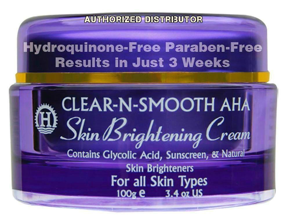 Clear N Smooth Aha Skin Brightening Cream Safe Brightening