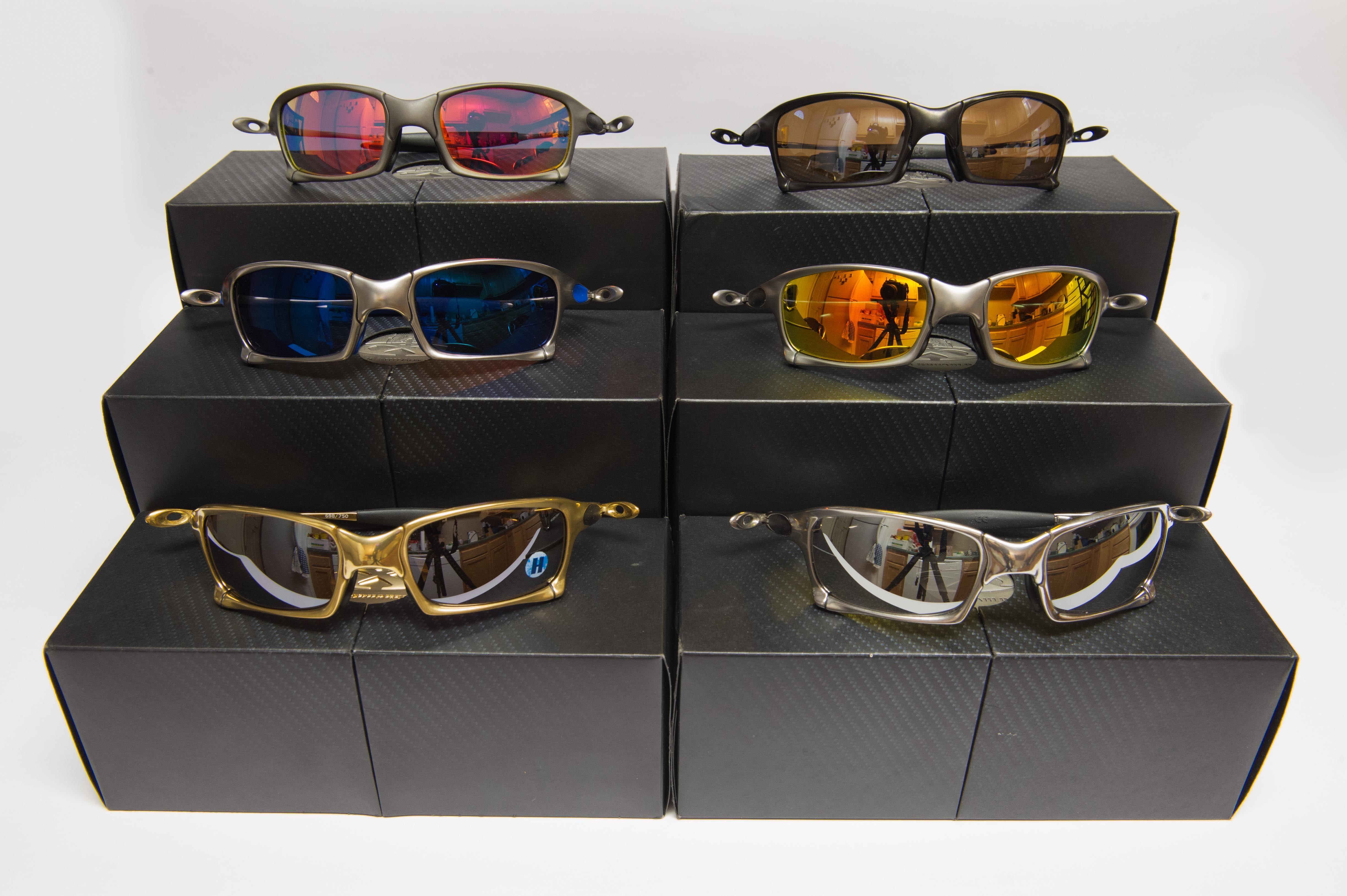Take your pick of Oakley X-Metals: http://www.oakleyforum.com ...