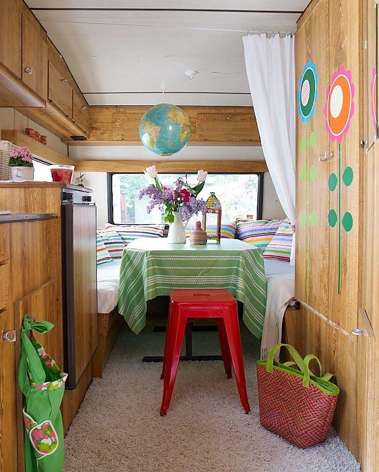 Decorar caravana decoracion caravanas y furgonetas pinterest caravana autocaravana y - Decoracion interior caravanas ...