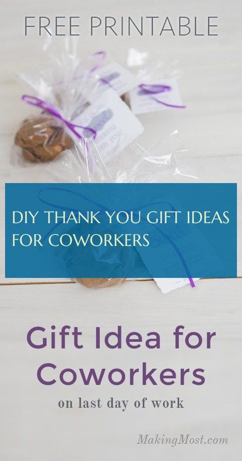 diy thank you gift ideas for coworkers