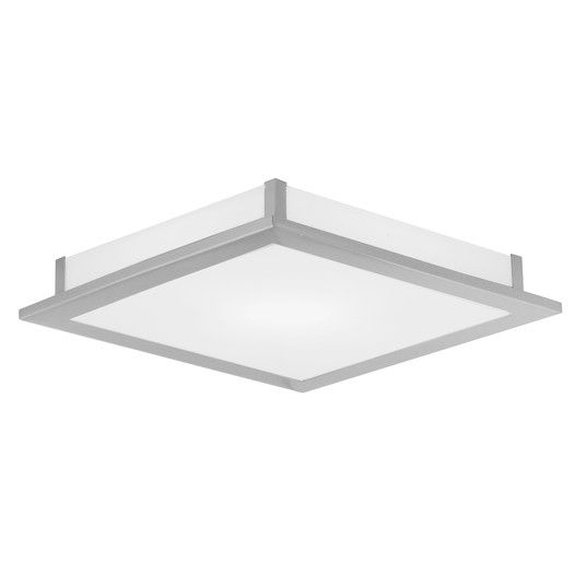 Eglo auriga 1 light flush mount allmodern modern contemporarymodern designflush mount lightingmudrecessed