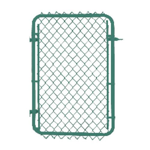 Master Halco Galvanized Chain Link Fence Gate 60 X 40 036473 Rona Fence Styles Chain Link Fence Gate Fence Gate