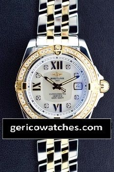 Gerico National/Rolex/Breitling/AudemarsPiguet - Pre-Owned Ladies' Breitling Cockpit , $7,950.00 (http://stores.gericowatches.com/pre-owned-ladies-breitling-cockpit/)