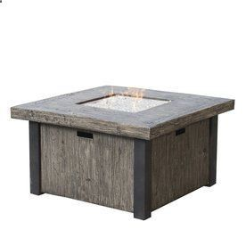 RST Brands Taos 42-in W 55,000-BTU Concrete Propane Gas Fire Table
