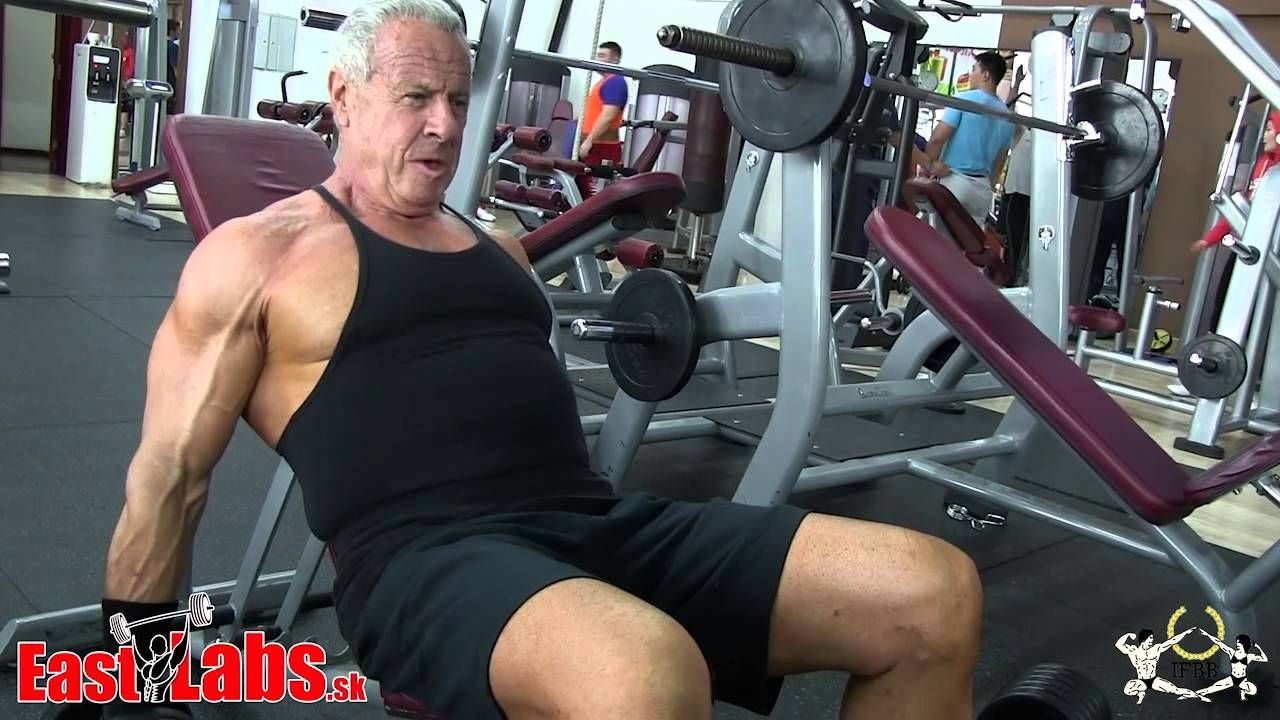 DION FRIEDLAND - 70 year old Bodybuilder from South Africa | Age ...