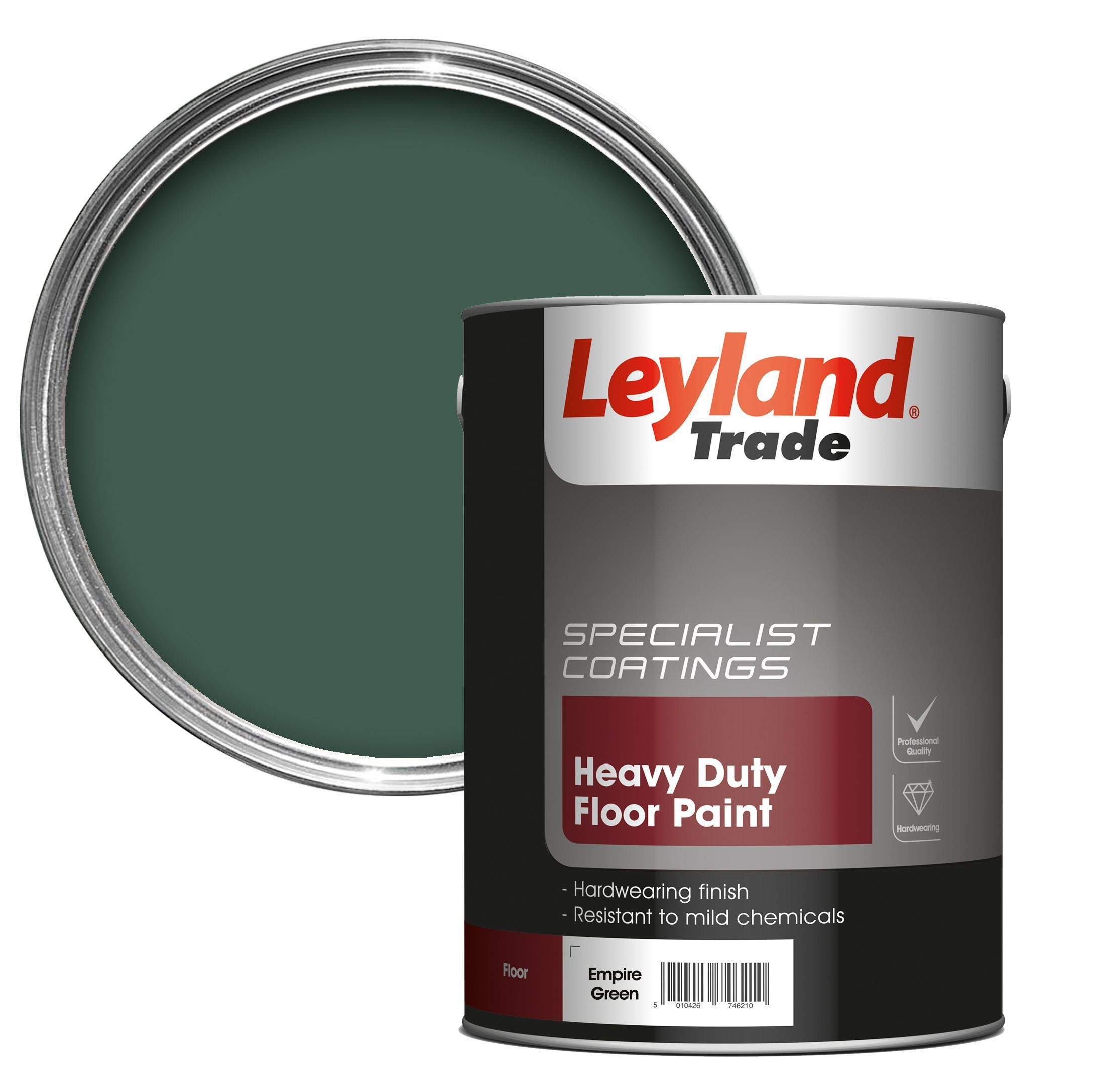 Empire Custom Flooring Inc: Leyland Trade Empire Green Satin Floor & Tile Paint