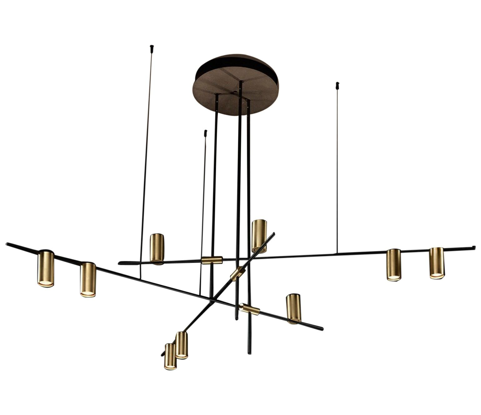 Toss B Tribes Chandelier Contemporary Industrial Midcentury Modern Metal Chandelier By Modern House Lighting Modern Chandelier Chandelier Pendant Lights