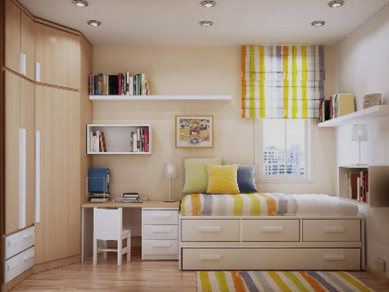 The use of some furniture for Small Bedroom Design Ideas